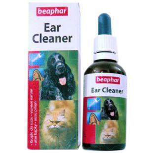 BEAPHAR Ear Cleaner Жидкость для чистки ушей 50 мл