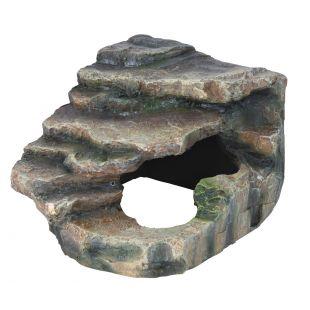 TRIXIE Декорация для террариума, скала 16х12х15 см