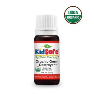 PLANT THERAPY Germ Destroyer KidSafe looduslike eeterlike õlide segu 10 ml