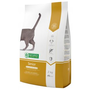 NATURE'S PROTECTION Сухой корм для кошек Senior 10 years and older Poultry 2 кг