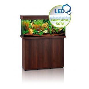 JUWEL LED Rio 180 akvaarium tumedast puidust, 180 l, 101 x 41 x 50 cm