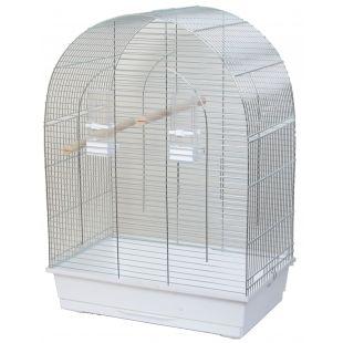 INTERZOO LUSI Клетка для птицы, оцинкованная 54x34x75 cм