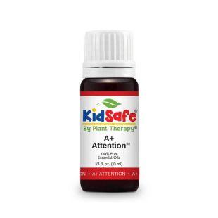 PLANT THERAPY A+ Attention KidSafe eeterlike õlide segu rullikuga, 10 ml
