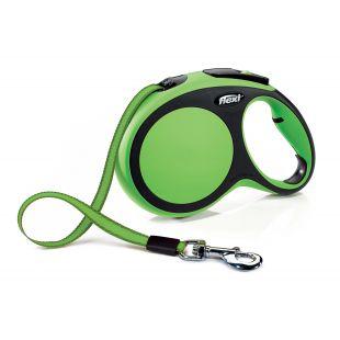FLEXI Comfort автоматический поводок, макс. 50кг, 8м, ленточный L, max 50кг 8м лента , зеленый