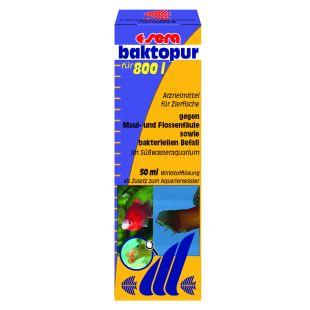 SERA Baktopur Средство от инфекции жабры и плавников 50 мл