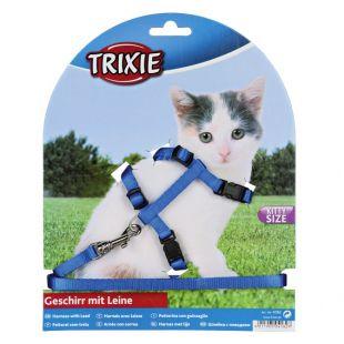 TRIXIE Шлейка с поводком для кошек Нейлон