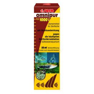 SERA Omnipur Средство против болезней рыб 50 мл