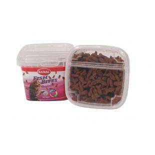 SANAL Fish Bites Cup кормовая добавка для кошек 75г