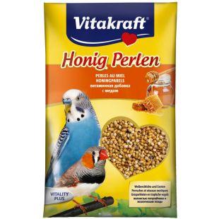 VITAKRAFT Honig Perlen vitamiiniseemned viirpapagoidele 20 g