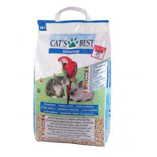 JRS Cats best Universal наполнитель для туалетов домашних животных, древесный 10 л
