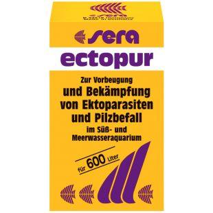 SERA Ectopur средство против болезней водных рыб 130 г