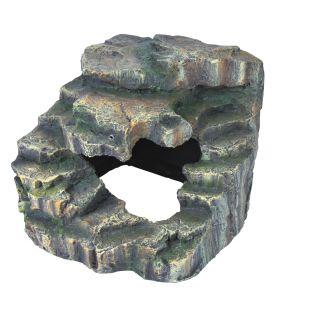 TRIXIE Декорация для террариума, скала 19х17х17 см