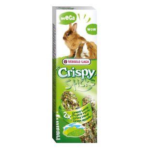 VERSELE LAGA Crispy Mega Sticks Green Meadow küülikutele ja merisigadele 2 tk.