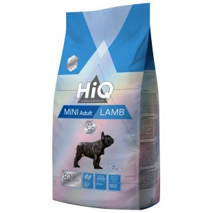 HIQ Kuivtoit koertele Mini Adult Lamb 7 kg