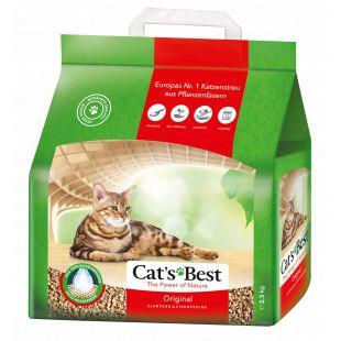 JRS CAT'S BEST ORIGINAL наполнитель для кошачьего туалета, древесный, комкующийся 5 л