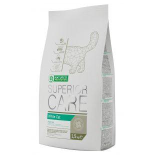 NATURE'S PROTECTION SUPERIOR CARE White Cat корм для кошек с белой шерстью 1.5 кг