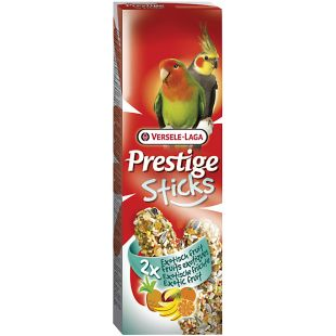 VERSELE LAGA PRESTIGE STICKS, papagoide maiused eksootiliste puuviljadega 2 tk