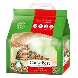 JRS CAT'S BEST ORIGINAL наполнитель для кошачьего туалета, древесный, комкующийся 10 л