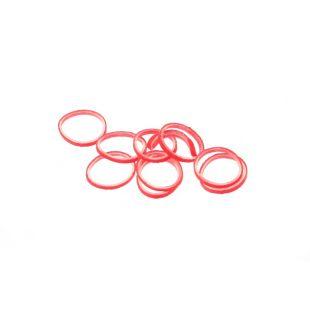 LAINEE Латексные резинки 100шт 100 шт., 8мм, красные