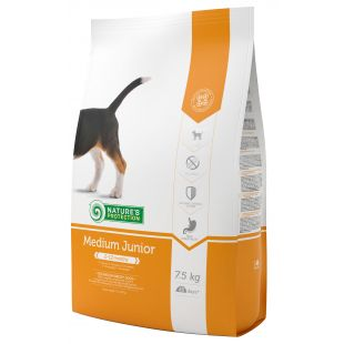 NATURE'S PROTECTION Сухой корм для собак All breeds Junior 2-12 months Poultry 7,5 кг