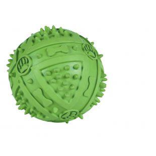 TRIXIE Mänguasi koertele, kummist kriuksuv pall 9 cm, 1 tk.