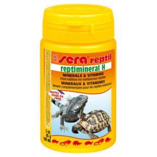 SERA Reptimineral H vitamiinid taimtoiduliste roomajatele 100 ml