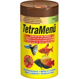 TETRA TetraMenue Futtermix корм для всех рыб, 4 вида, 100 мл