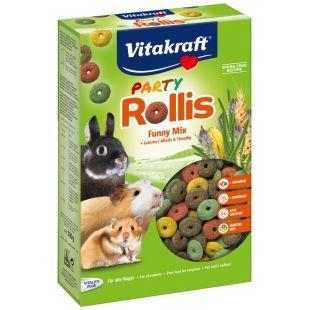 VITAKRAFT Rollis Party rõngassaiad närilistele 500 g