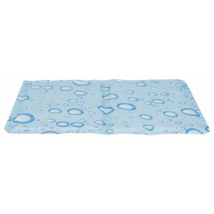 TRIXIE Охлаждающий коврик, светло синий L 65x50, светло-голубой
