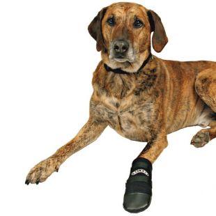 TRIXIE Ботинки для собак Walker, 2шт. 2шт. pазмер M чeрная