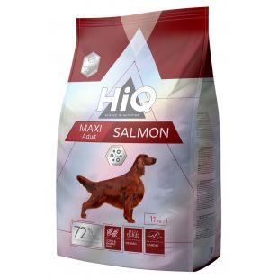 HIQ Сухой корм для собак Maxi Adult Salmon 11кг