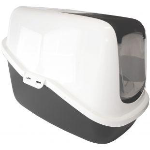 SAVIC Nestor туалет-дом для кошек белый/серый, 56x39x38.5 см