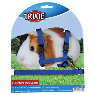 TRIXIE Шлейки и поводок для морских свинок x 1