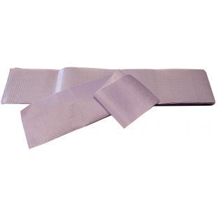 TAURO PRO LINE Двухслойная бумага для папильоток фиолетовый цвет, 100 шт., 10 х 50 см