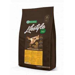 NATURE'S PROTECTION LIFESTYLE Сухой корм для щенков Lifestyle Grain Free Starter Salmon with Krill 10кг