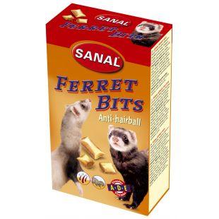 SANAL Sanal ferrets bits anti-hairball toidulisand tuhkrutele pulstunud karvade vastu 75 g
