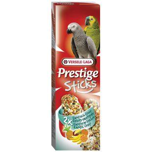 VERSELE LAGA PRESTIGE STICKS Suurte papagoide maius eksootiliste puuviljadega 2 tk