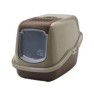 SAVIC NESTOR туалет для кошек коричневый, 56x39x38.5 см