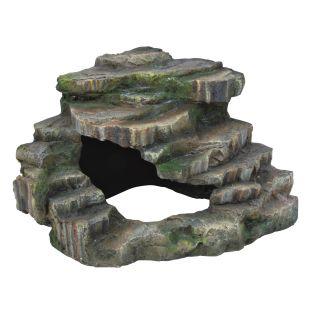 TRIXIE Декорация для террариума, скала 26х20х26 см