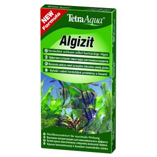 TETRA Aqua Algizit Средство по уничтожению водорослей в аквариуме 10 таблетки