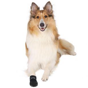 TRIXIE Ботинки для собак Walker, 2шт. 2шт. pазмер L чeрная