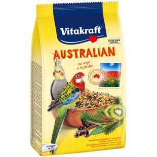 VITAKRAFT MR Australian eukalüptiga toit keskmise suurusega papagoidele 750 g