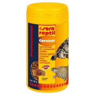 SERA Reptil Professional Carnivor Feed lihatoidulistele roomajatele 250 ml