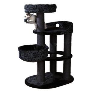 TRIXIE Filippo когтеточка для кошек чёрная/серая, 114 см