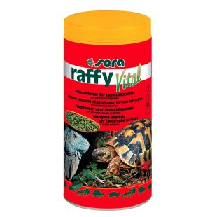 SERA Raffy Vital Овощной корм для наземных и травяных черепах 250 мл