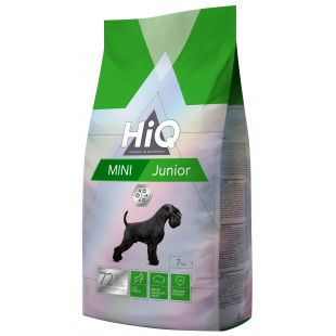 HIQ Сухой корм для собак Mini Junior Poultry 7 кг