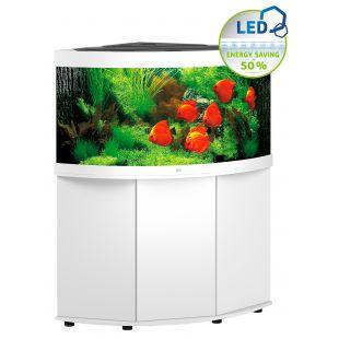 JUWEL LED Trigon 350 akvaarium, nurgeline valge