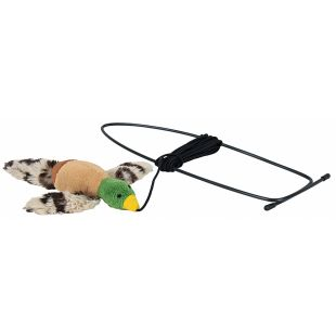 TRIXIE Kassi mänguasi, linnuke 13x17 cm