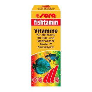 SERA Fishtamin Быстро поглощающие витамины для рыбы 15 мл