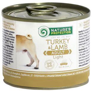 NATURE'S PROTECTION Dog Adult Light Turkey&Lamb koerakonservid 200 g